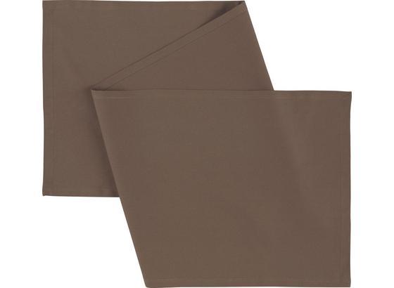 Ubrus 'běhoun' Na Stůl Steffi -top- - šedohnědá, textil (45/150cm) - Mömax modern living