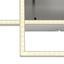 Led Stropná Lampa Iven - strieborná, kov/plast (110/25/7cm)