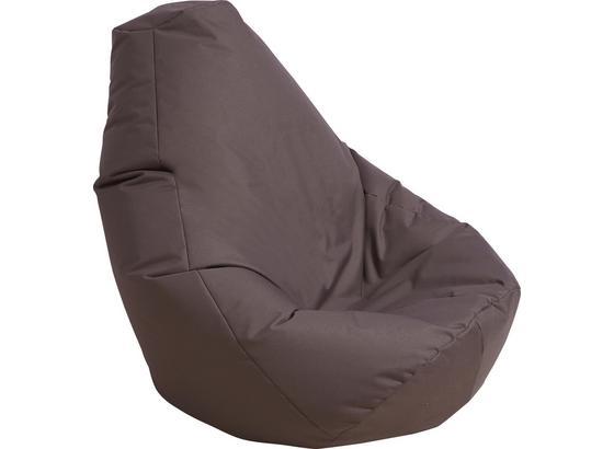Sitzsack Buzz - Grau, Basics, Textil (85/120/85cm)