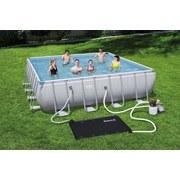 Poolheizung mit Solarbetrieb 171x110cm 58423 - Schwarz, MODERN, Kunststoff (171/110cm) - Bestway