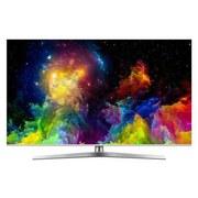 Hisense 65 Zoll Fernseher Flat Uhd, Uled Smart TV, Hdr - Silberfarben, MODERN, Kunststoff/Metall (122,9/77,7/29,6cm) - Hisense
