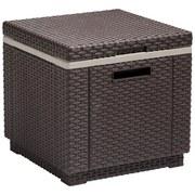 Kühlbox Cube - Braun, MODERN, Kunststoff (42/41/42cm) - ALLIBERT