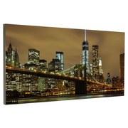 Infrarot Heizung 720W New York 120x60 cm, inkl. Thermostat - Weiß, MODERN, Metall (119,5/59,5/2,2cm)