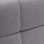 Posteľ Boxspring Jerry - sivá, Moderný, drevo/textil (210/188/118cm) - Mömax modern living