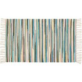 Handwebteppich Annika - Multicolor, Textil (70/120cm) - Ombra