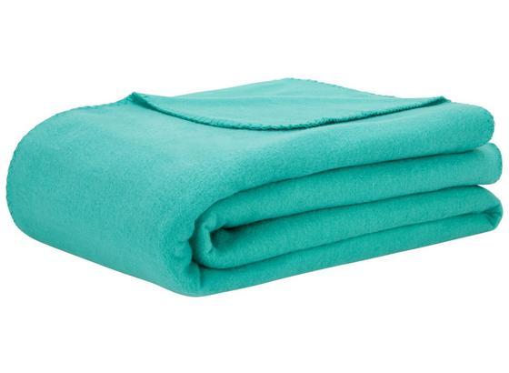 Fleecová Deka Trendix -top- - zelená, textil (130/180cm) - Mömax modern living