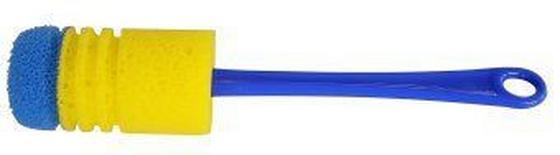 Isokannenreiniger Kunststoff - Blau/Gelb, KONVENTIONELL, Kunststoff - Homeware