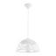 Závesná Lampa Arjeta - biela, Moderný, kov (30/120cm) - Modern Living