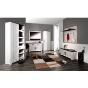 Garderobenpaneel Provence - Wengefarben/Weiß, MODERN, Holzwerkstoff (115/104/28cm) - James Wood