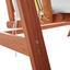 Hojdačka Acacia - biela/farby agátu, Moderný, drevo/textil (196/174/124cm) - Modern Living