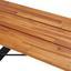 Záhradní Lavice Leonor Z Akátového Dřeva - černá/barvy akácie, Moderní, dřevo (170/42/33,5cm) - Modern Living