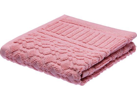 Ručník Pro Hosty Carina - růžová, Romantický / Rustikální, textil (30/50cm) - Mömax modern living