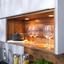 Rohová Kuchyňa Riga - sivá, Moderný, kompozitné drevo (285/217,5cm)