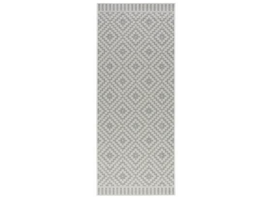 Koberec Tkaný Na Plocho Soho - šedá, Moderní, textil (80/200cm) - Modern Living