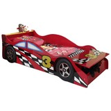 Autobett Race Car Rot 70x140cm - Rot, MODERN, Holzwerkstoff (70/140cm) - MID.YOU