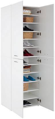 Schuhschrank in Weiß
