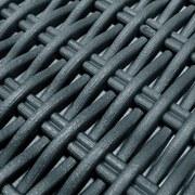 Loungegarnitur Moorea - Hellgrau/Graphitfarben, MODERN, Kunststoff (136/199cm) - ALLIBERT