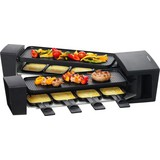 Raclette-Grill Vario Flex - Schwarz, MODERN, Kunststoff (50,5/12/24,8cm)