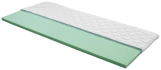 Topper Beta H2 180x200 - Weiß, Textil (180/200cm) - Primatex