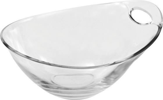 Desszertes Tál Gadi - tiszta, konvencionális, üveg (18cm) - LUCA BESSONI