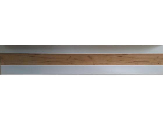 Obklad Výklenku Atena 240 - bílá/barvy jasanu, Lifestyle, kompozitní dřevo (240cm)