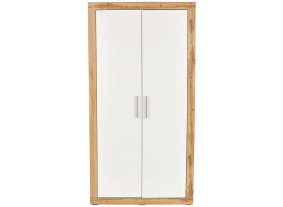 kleiderschrank frame eichefarbenwei konventionell holzwerkstoff 9820052 - Kleiderschrank Online Kaufen