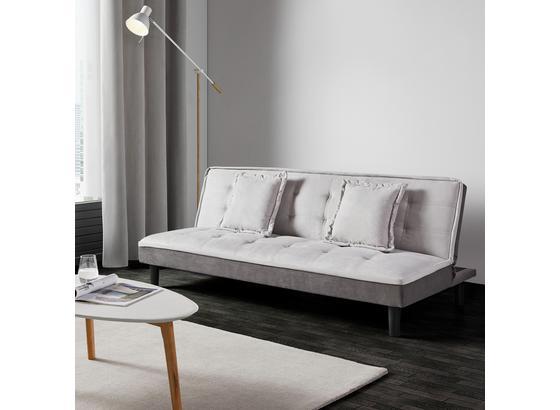 Rozkládací Pohovka Babette - šedá/světle šedá, Moderní, textilie (183/70/82cm) - Modern Living