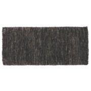 Vorleger Dora - Braun/Weiß, KONVENTIONELL, Textil (70/140cm) - OMBRA