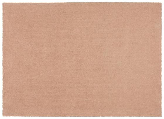 Hochflorteppich Piper 120x170 cm - Hellrosa/Rosa, Basics, Textil (120/170cm) - Luca Bessoni