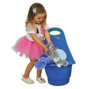 Spielzeugtrolley Rolly Blau - Blau/Rot, Basics, Kunststoff (34/60/43cm)