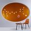 Konferenčný Stolík Henrik - čierna/farby vlašského orecha, Basics, kov/drevo (60/51cm) - Modern Living