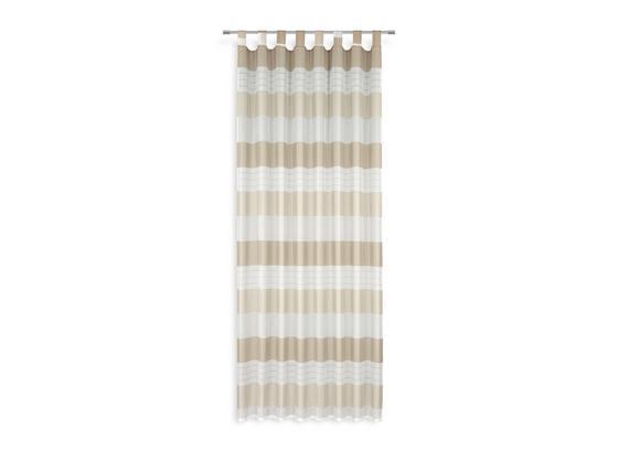 Kombivorhang Roswita - Beige, MODERN, Textil (140/255cm) - Luca Bessoni