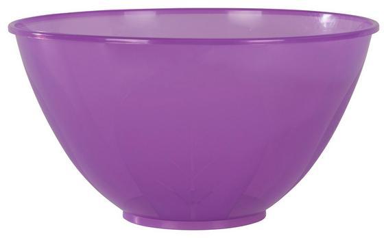 Schüssel Carter, 0,5 Liter - Klar/Pink, KONVENTIONELL, Kunststoff (5l) - Ombra