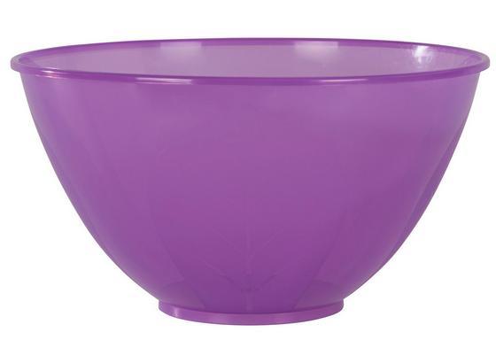 Schüssel Carter, 5 Liter - Klar/Pink, KONVENTIONELL, Kunststoff (5l) - Ombra