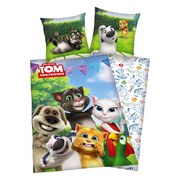 Lizenzbettwäsche Talking Tom - Multicolor, MODERN, Textil (37/26/2,5cm)