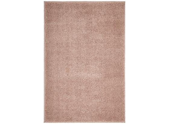 Koberec S Vysokým Vlasem Bono 3 -eö- - růžová, textil (120/175cm) - Mömax modern living