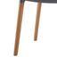Stolička Celine - sivá/farby buku, Moderný, drevo/plast (43,5/82/51,5cm) - Modern Living