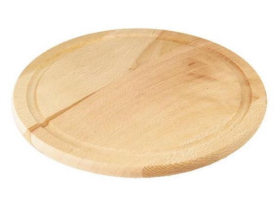 Doska Na Krájanie Bruno -top- - prírodné farby, drevo (25cm) - Zandiara