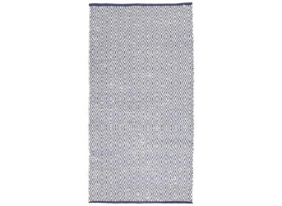 Ručné Tkaný Koberec Carmen 2 - tmavomodrá, textil (80/150cm) - Mömax modern living