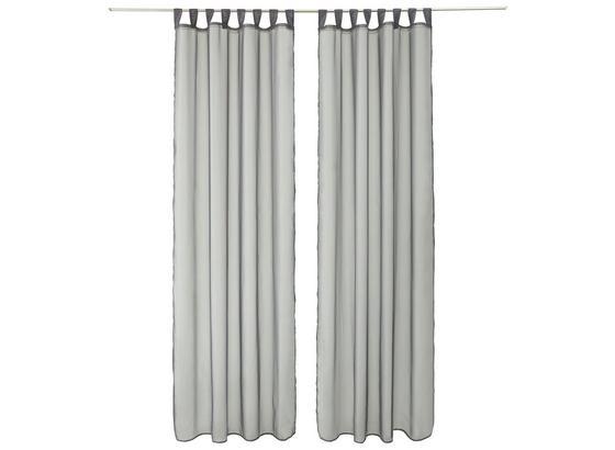 Závěs Hotový Cenový Trhák - antracitová, textilie (140/245cm) - Mömax modern living