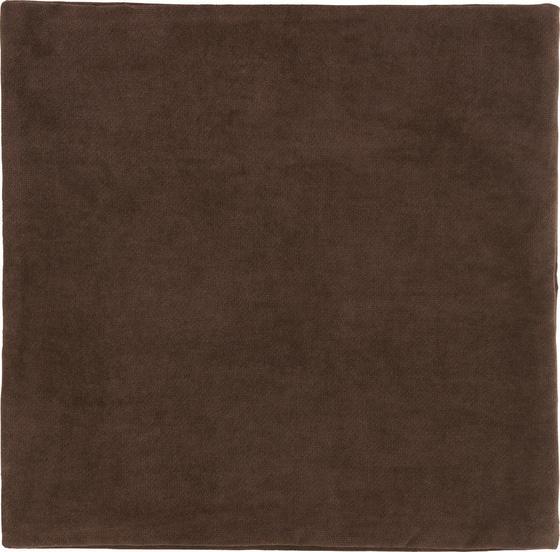 Povlak Na Polštář Marit - tmavě hnědá, textil (40/40cm) - MÖMAX modern living