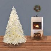 Weihnachtsbaum H: 180 cm Weiß - Weiß, Trend, Kunststoff/Metall (180cm) - X-Mas