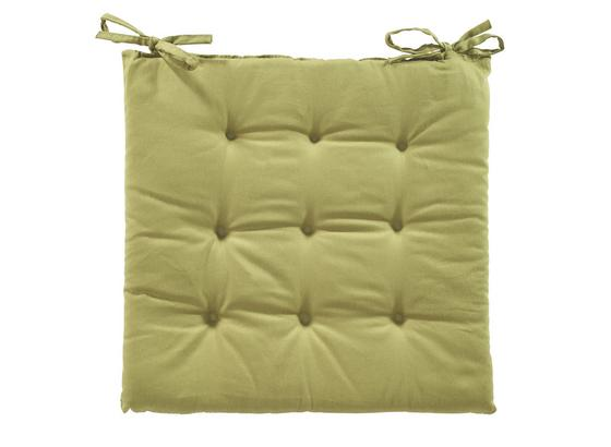 Sedací Vankúš Lola -based- -top- - zelená, textil (40/40/2cm) - Based