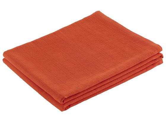 Prehoz Solid One -ext- - oranžová, textil (140/210cm)