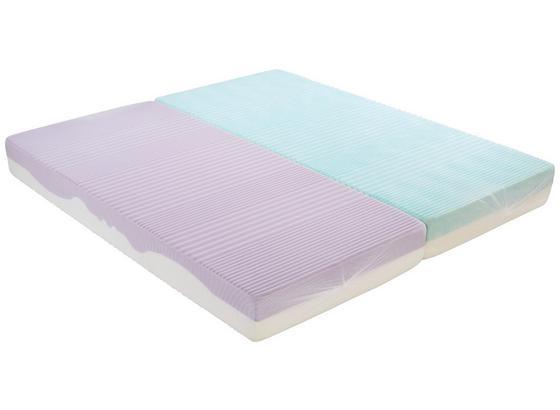 Komfortschaummatratze Ergo Duo 180x200cm H3 - Weiß, Textil (180/200cm) - Primatex