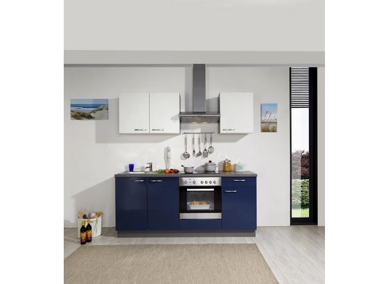 Küchenblock Win - Türkis/Blau, MODERN, Kunststoff (200cm) - Express