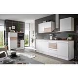 Küchenblock Welcome Big inkl. Blockelement - Weiß/Sonoma Eiche, MODERN, Holzwerkstoff (240/205/60cm)