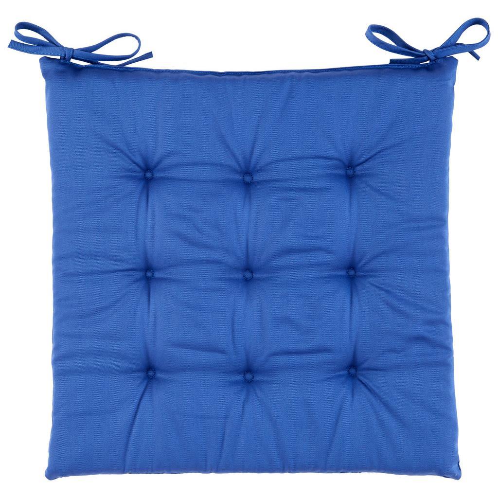 Poduška Na Sedenie Lola-Based-40/40/2cm, Modrá