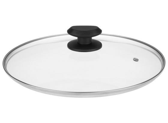 Poklice Gerry - černá/čiré, umělá hmota/sklo (20ml) - Mömax modern living