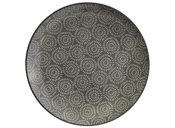 Plytký Tanier Nina - sivá, keramika (26,5cm) - Mömax modern living